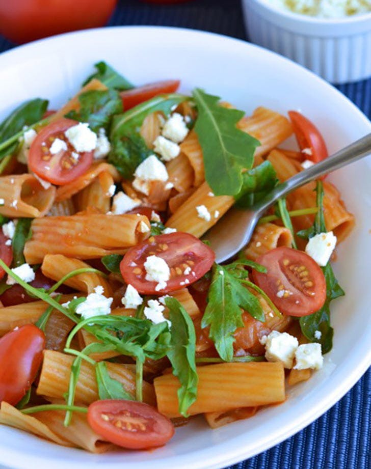 Pastasotto with Arugula and Cherry Tomatoes recipe