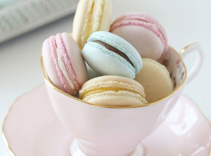 Pastel Macarons Recipe for Easter