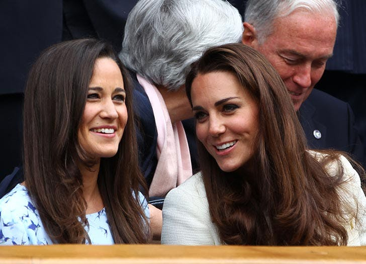 Pippa and Kate Middleton sisters
