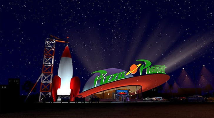 Disneyland Is Opening an IRL Pizza Planet from 'Toy Story'