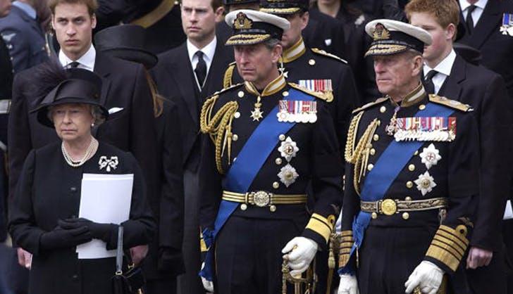 Prince charles queen elizabeth uniform