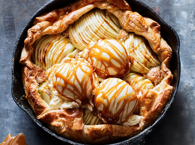 Puff Pastry Apple Galette recipe
