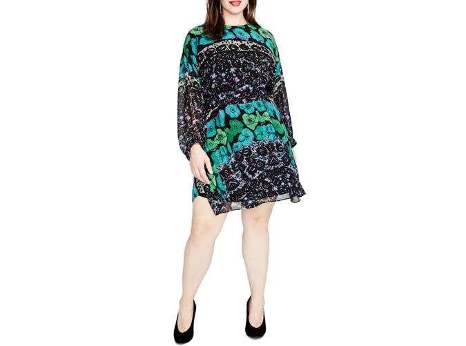 Rachel by Rachel Roy Long Sleeve Mini dress