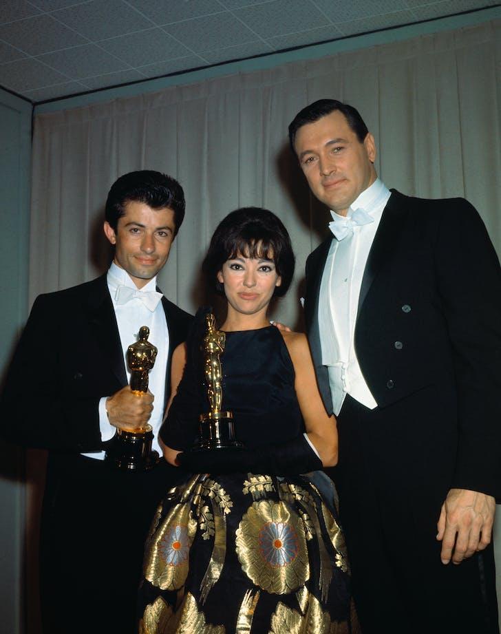 Rita Moreno 1962 Oscars