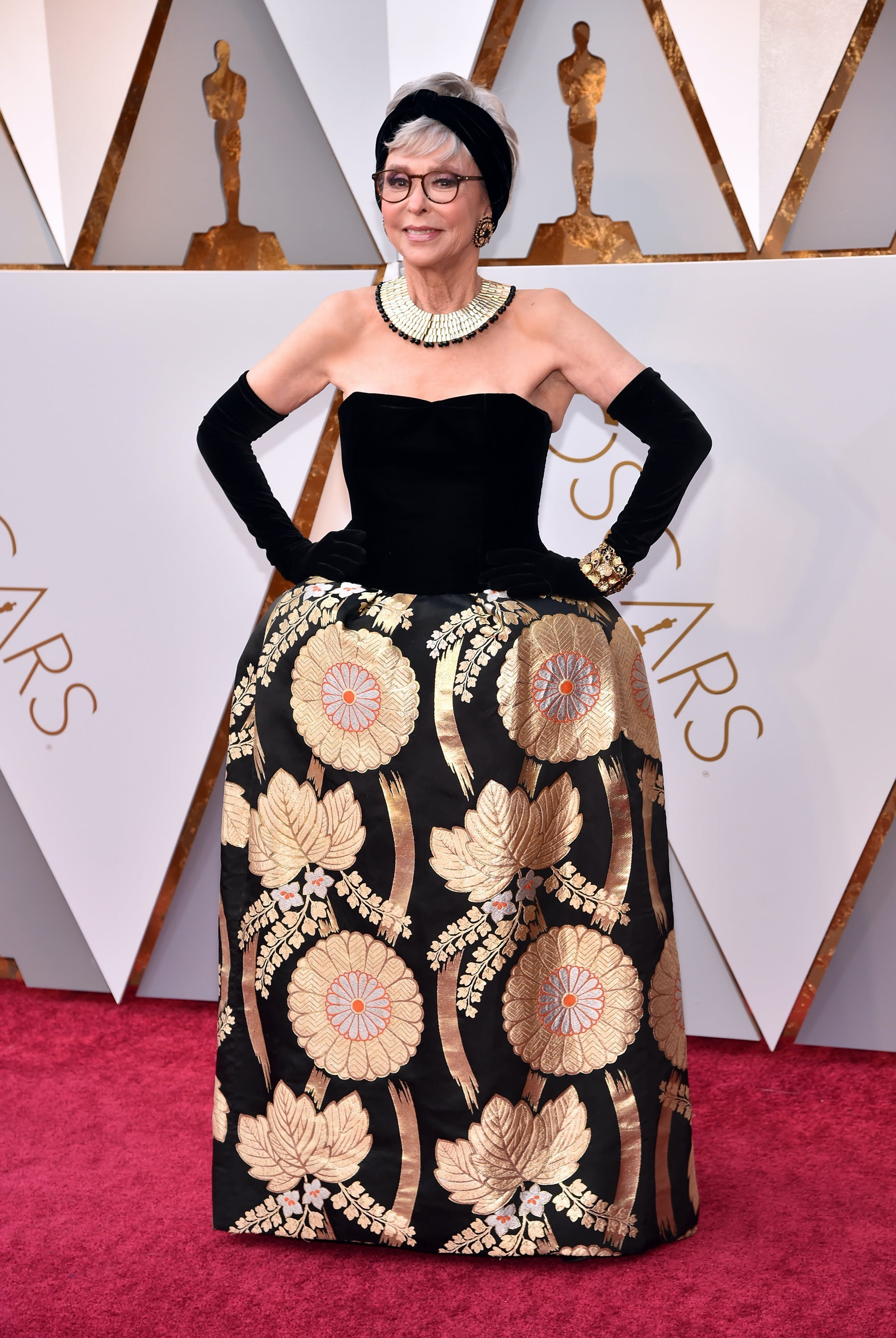 Rita Moreno at the 2018 Oscars