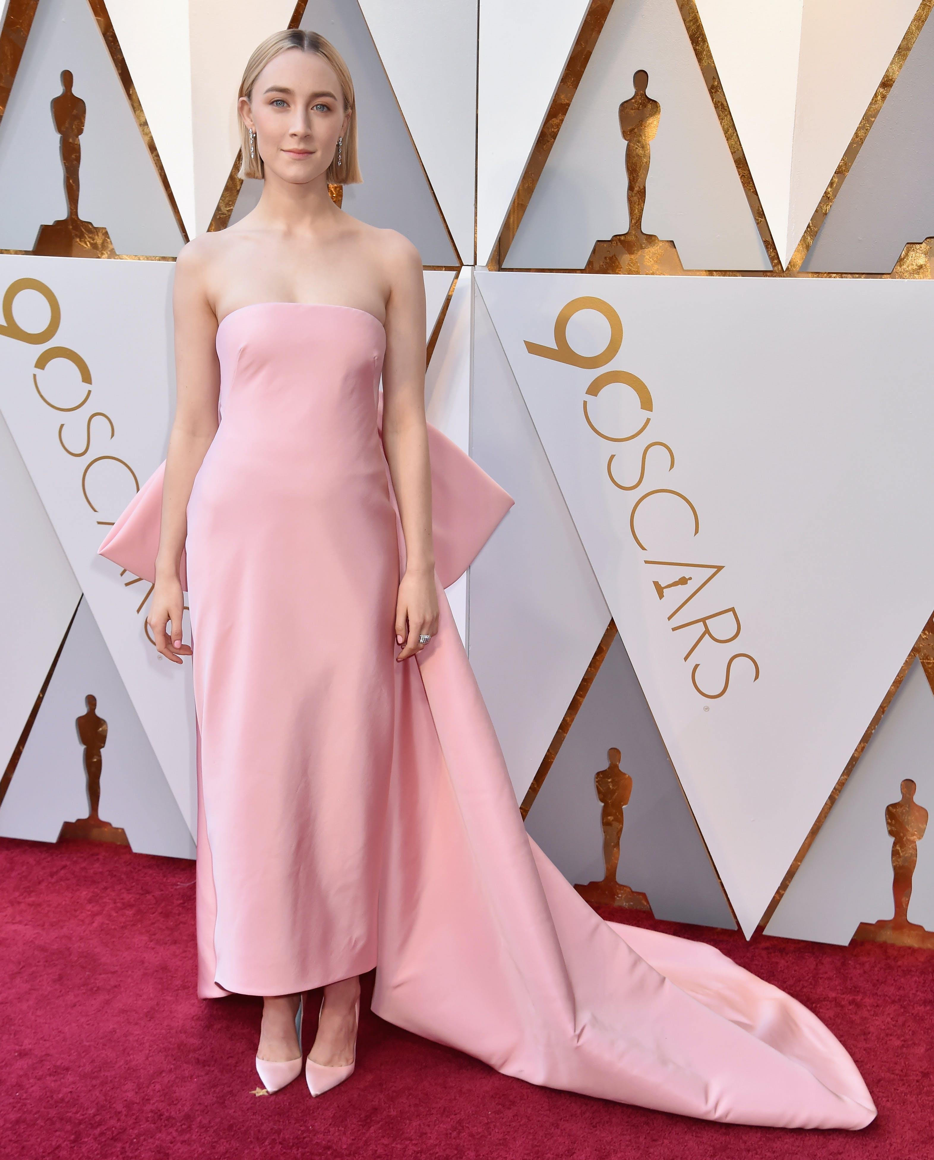 Saoirse Ronan at the 2018 Oscars