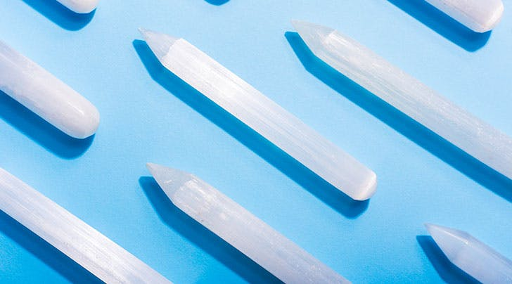 Meet Selenite, the Crystal You Probably Need If Your Life Is Filled with Drama