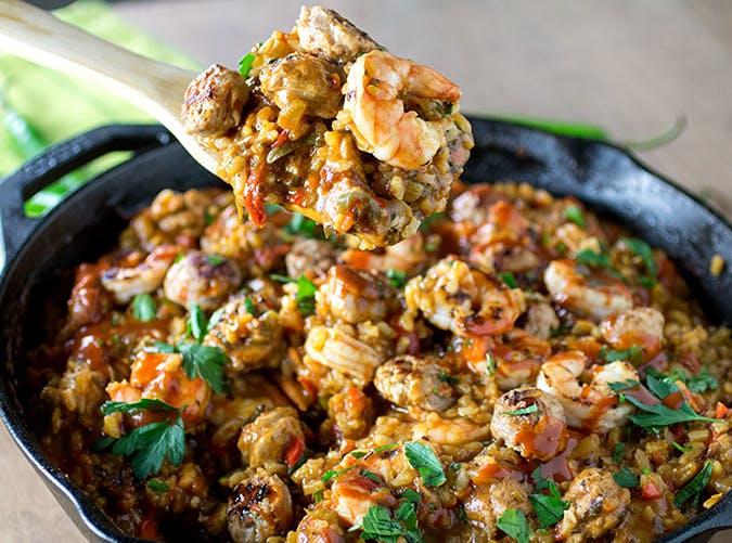 Seriously Awesome Jambalya recipe with sausage