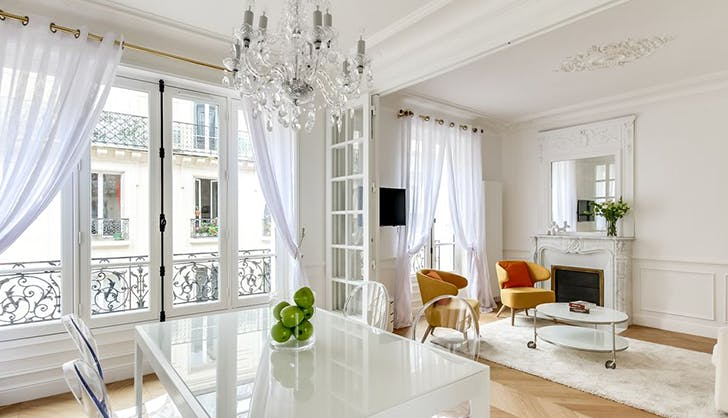 Shabby Chic Apartment in the 16th Arrondissement