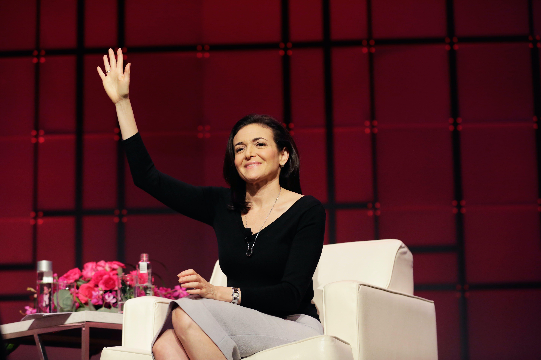 Sheryl Sandberg speaks at the Texas Conference For Women 2017