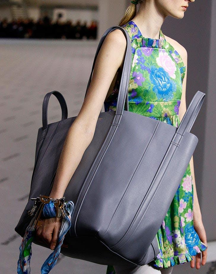 Silk scarf on wrist fashion trend