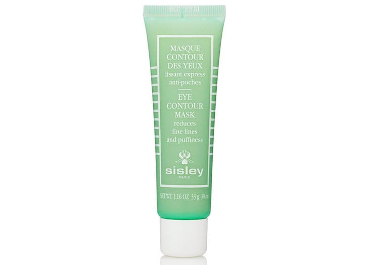 Sisley Eye Contour Mask made with malachite