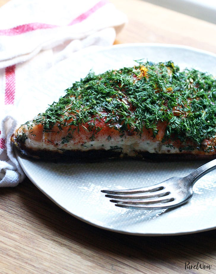 Slow Cooked Salmon Spring Dinner Recipe