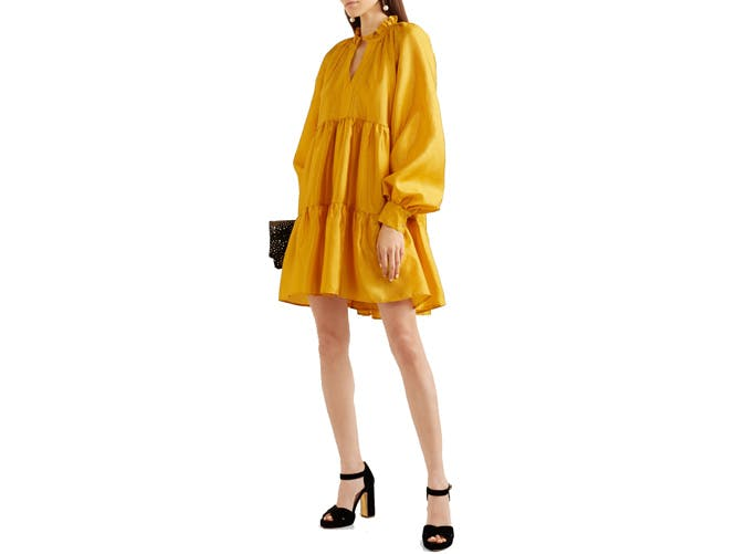 Stine Goya mini tiered tented dress