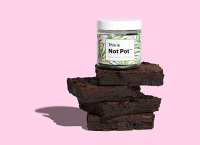 This Is Not Pot brownie image 400