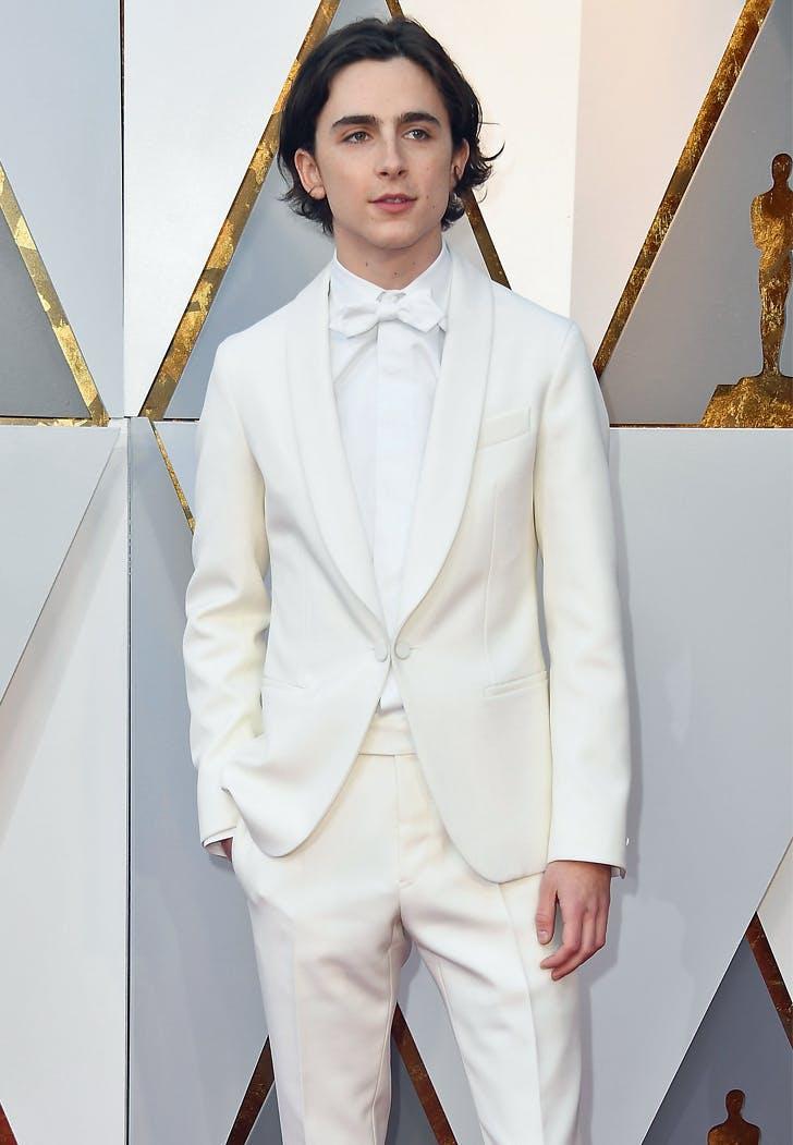 Timothee Chalamet Oscar Suit