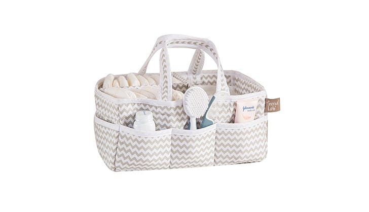 Trend Lab Chevron Diaper Caddy