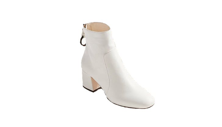 Urban Outfitters White Booties
