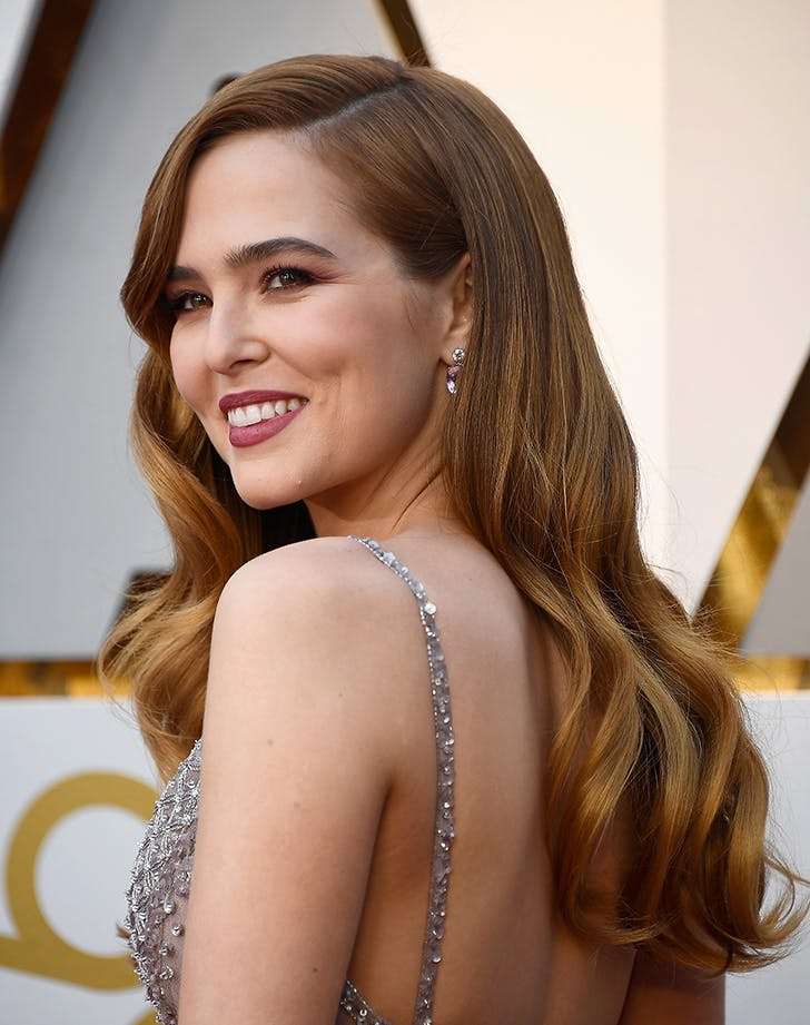 Zoey Deutch oscars beauty 2018