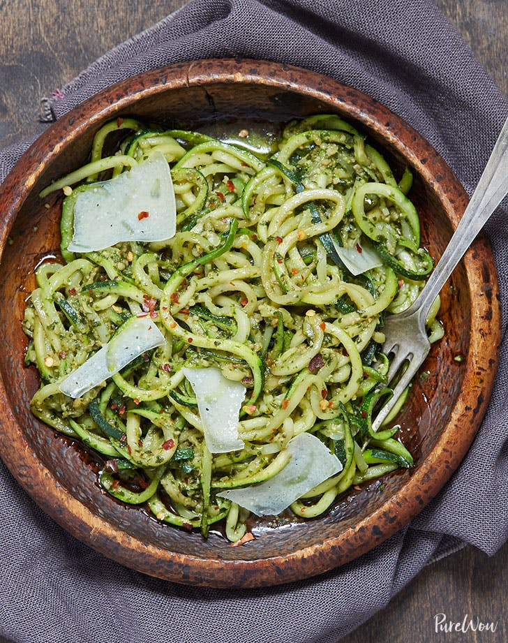 Zoodle Parmesan Spring Dinner Recipe