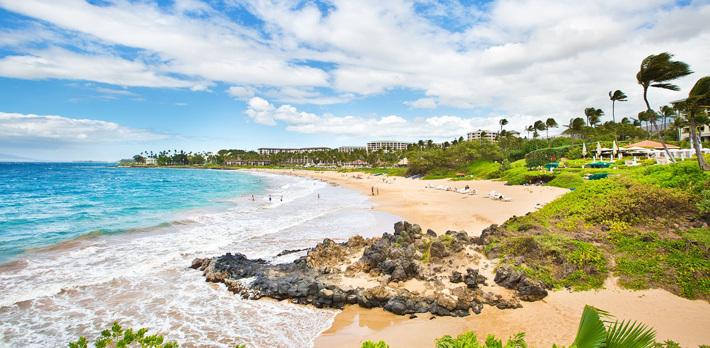 a beach in wailea hawaii