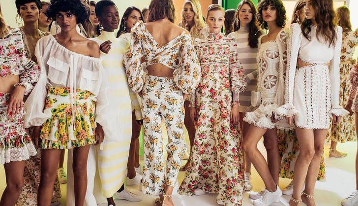 a bright and summery new collection from zimmermann