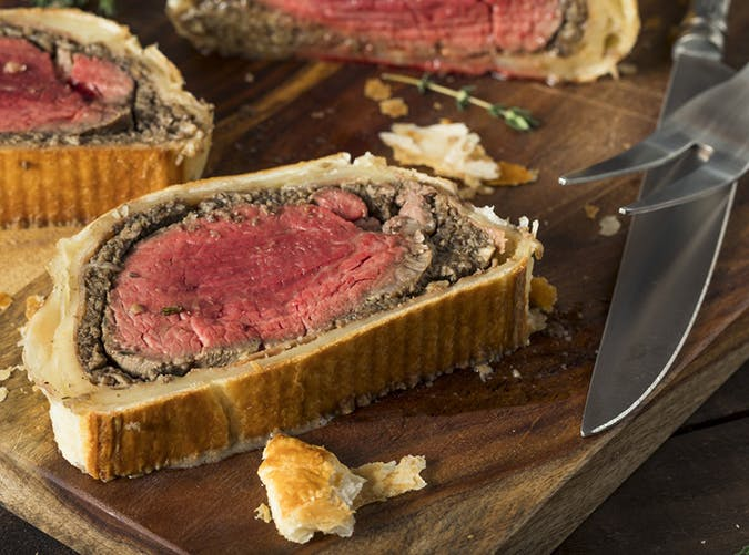 air fryer beef wellington