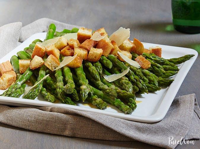 asparagus caesar salad recipe