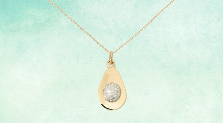Welp, You Can Now Buy a Solid-Gold, Diamond-Encrusted Avocado Necklace