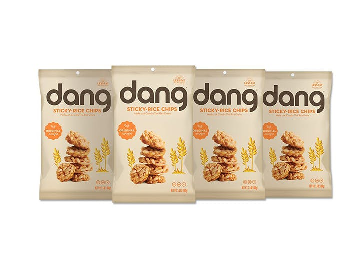 bags of dang sticky rice chips