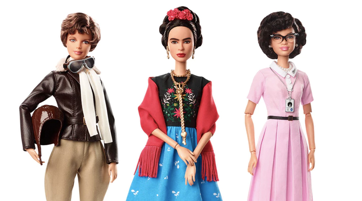 Chloe Kim, Frida Kahlo and others honored with new Barbie dolls