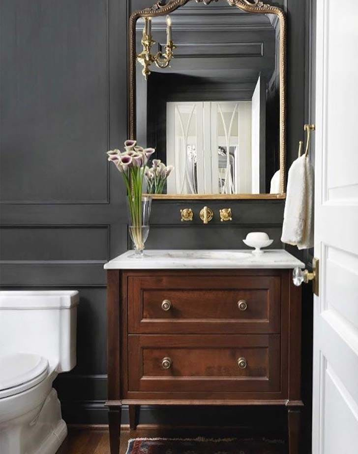 bathroom pedestal dish