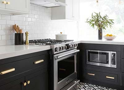 black kitchen fun tile 400
