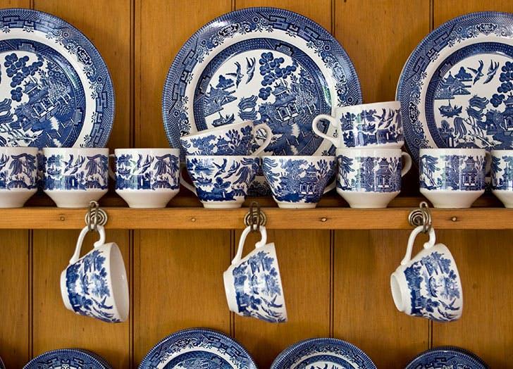 blue and white china
