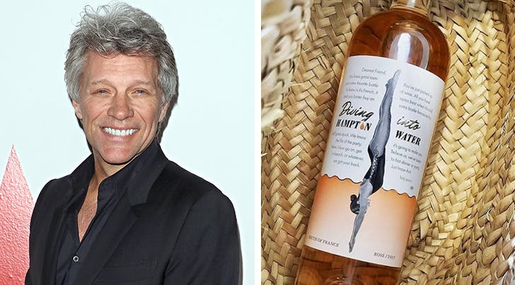 Livin on a (Summer Water) Prayer: Jon Bon Jovi Is Launching a Rosé Brand