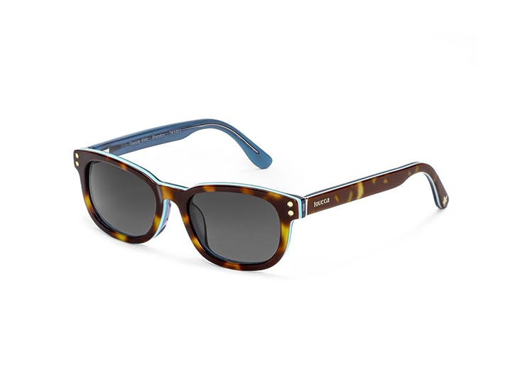boys wayferer sunglasses with blue inside