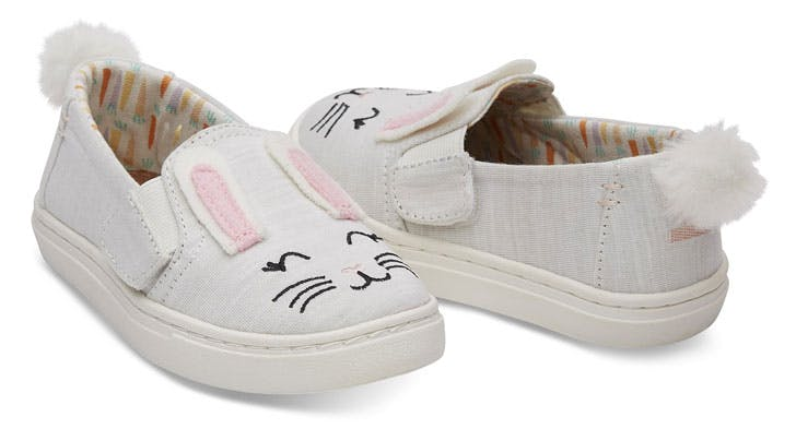 Toms Easter Bunny Shoe Collection For Kids Purewow