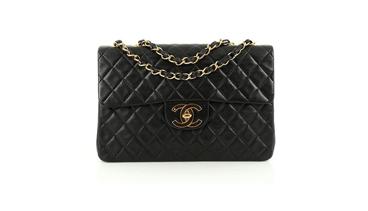 chanel single flap quilted bag