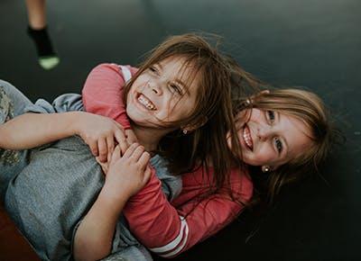 children roughhousing 400