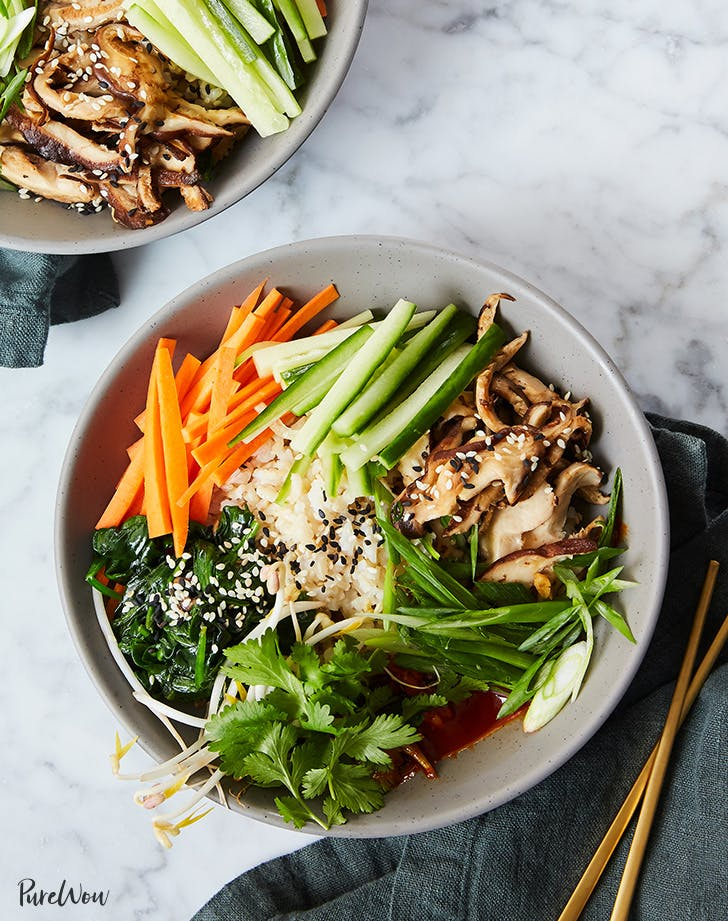 Clean-Eating Bibimbap Bowls