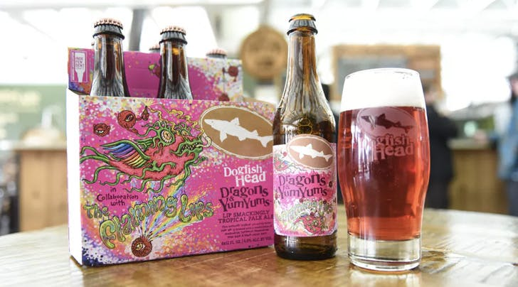 Calling All Gen Xers: Dogfish Head Is Teaming Up with the Flaming Lips to Make Pink Beer