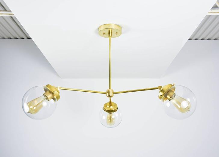 etsy pinwheel chandelier