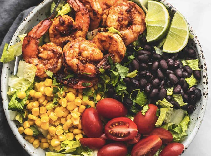 fiesta lime shrimp salad recipe