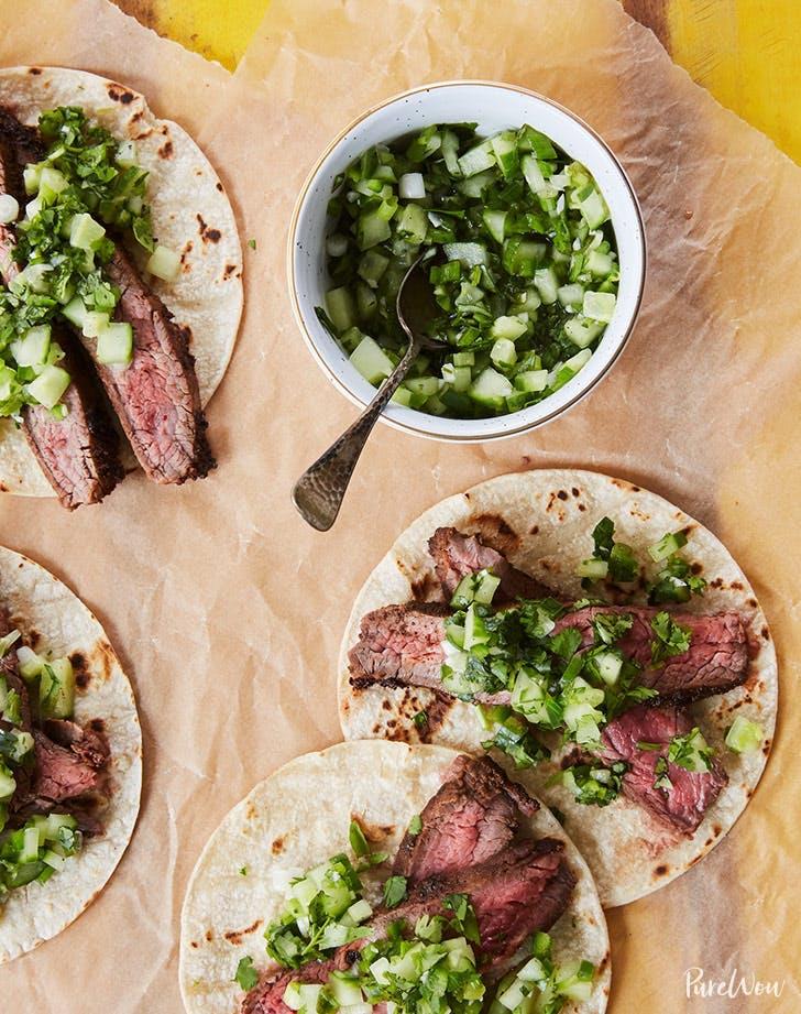 flank steak tacos cinco de mayo