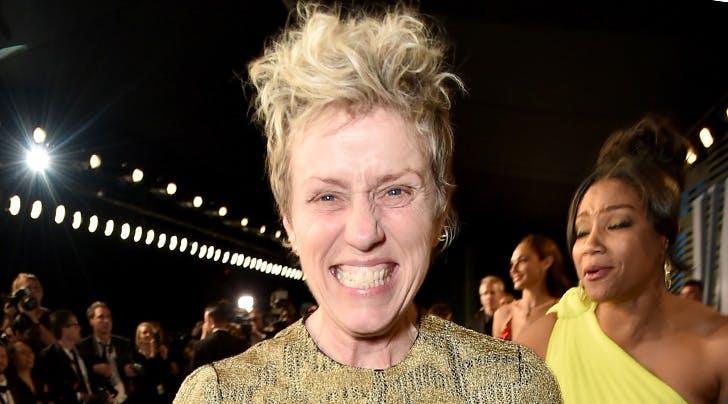 Um, Frances McDormands Oscar Was Stolen After the 2018 Academy Awards