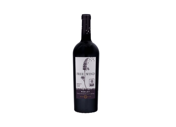 free wind merlot california