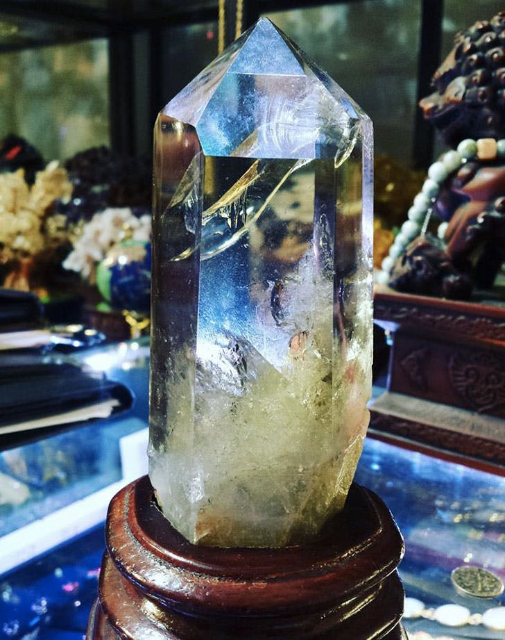 giant healing crystal
