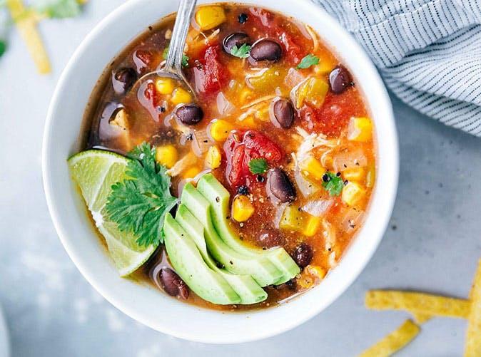 instant pot mexican tortilla soup recipe