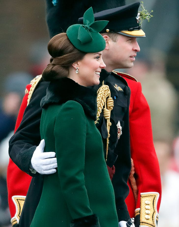 kate middleton prince william pda st paddys day1