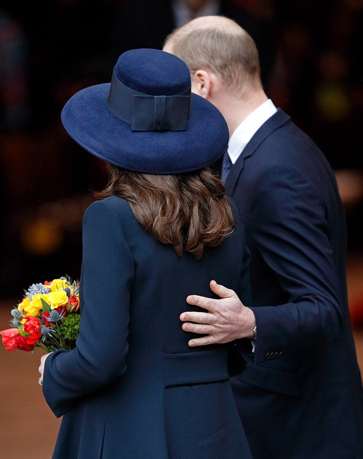 kate middleton prince william pda st paddys day2